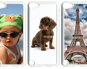 Personalized Photo on iPod Touch 5th Generation 5G Clear Hard Designed Case Cover