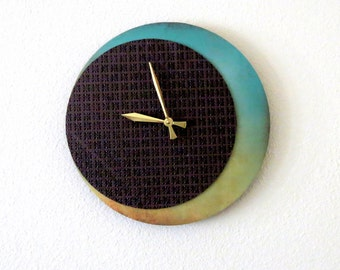 Unique Wall Clock, Decor and Housewares, Home and Living, Bohemian Decor,  Home Decor, Unique Gift, trending