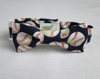Baseball Infant/Newborn/Toddler Bowtie and Suspenders - Great Photography Prop, Cute for Weddings, Cake Smashings