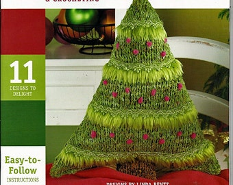 Fun and Festive Knitting and Crocheting with Fabric Pattern Book 1265