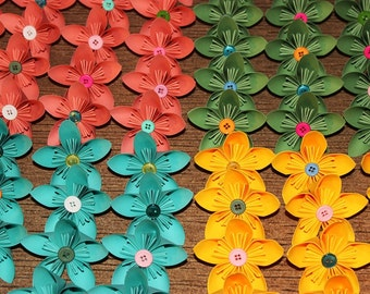 Made to Order - 10 Kusudama Origami Flowers - Any Color