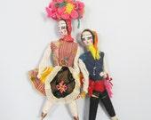 Vintage Sintra Hanging Dools / Portuguese Dolls