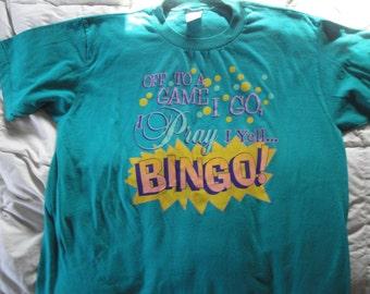 Vintage Bingo Tshirt