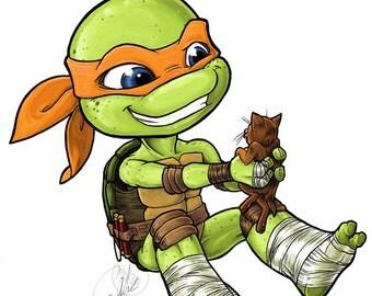 Ninja turtles michelangelo - photo#9