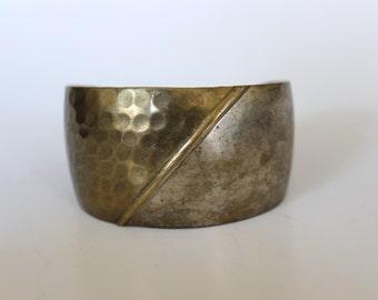 Brass cuff bracelet, made in India