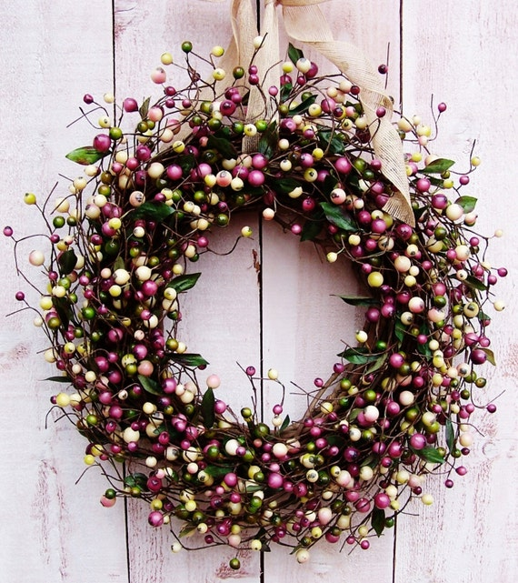 spring wreath summer wreath front door wreath spring summer door