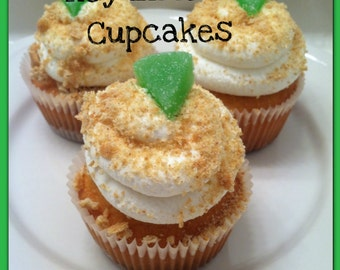 Key Lime Pie Cupcakes-Made to Order