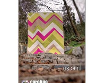 Ascend Quilt Pattern by Carolina Patchworks - Print Pattern