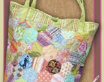 Isabella Bag pattern by Sewn into the fabric - Sewing Pattern