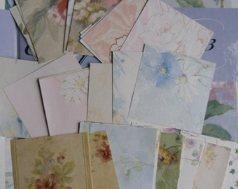 "Designer Wallpaper Samples - Scrapbooking, Crafting, Art Projects - 100 Pieces 4"" x 4"" Norwall"