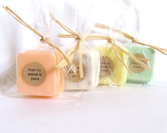 Wedding Favors - Soap favors - Bridal Shower - Party Favors - Rustic Wedding - Custom Wedding Favors in your Wedding colors