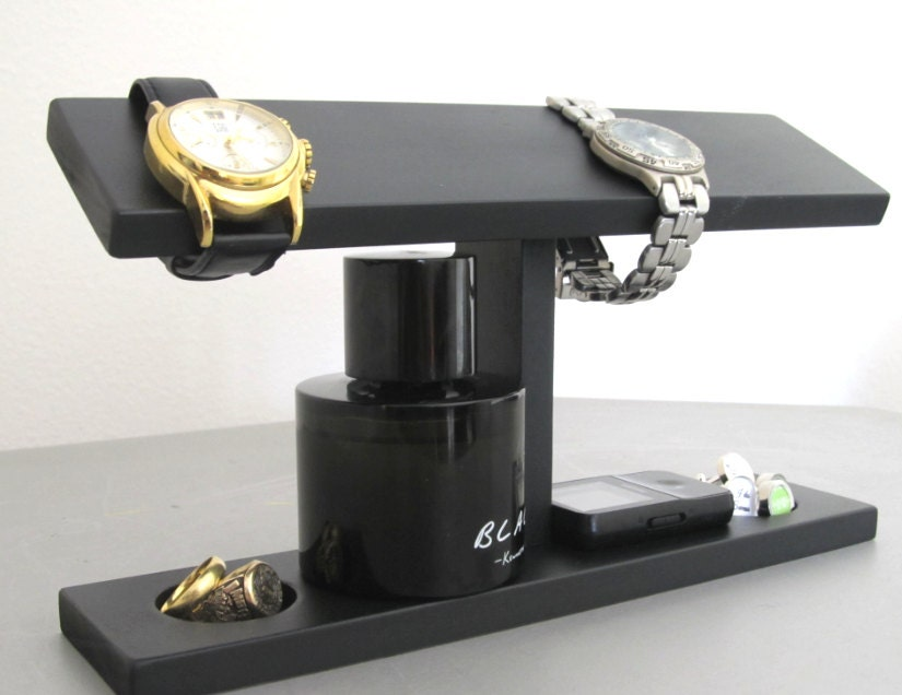 Men Watch Holder Men Watch Stand Watch Display with ring