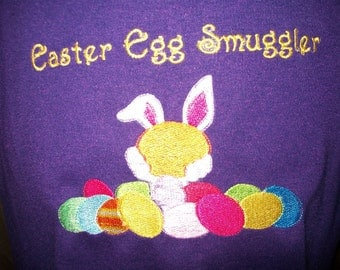 Easter Egg Smuggler Maternity Shirt - Size XL