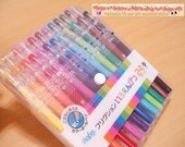 PILOT Frixion 24 Erasable Colored Ball-Point Pens Set 0.7mm Brand New Made in Japan - BeautifulArtStore