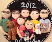 Big Family Personalized Christmas Ornament