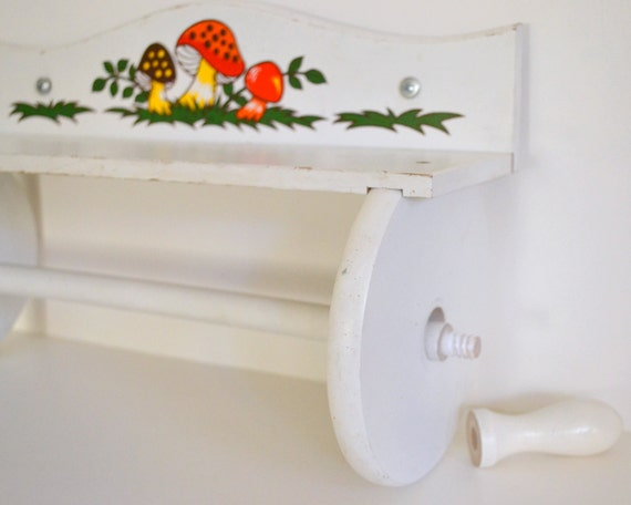 Hanging Wooden Towel Rack