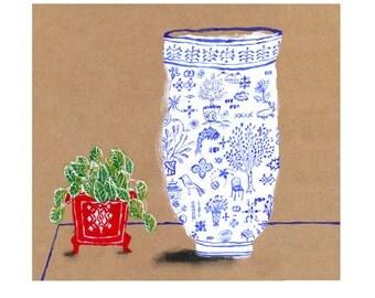 Chinese bowl print 4