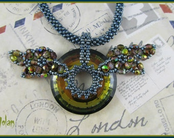 Flying Rings of Steel - A Steampunk inspired pendant Instructions PDF