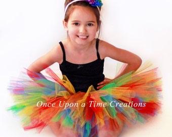 Rainbow Circus Clown Tutu - Newborn Baby Girl 6 12 18 Months 2T 3T 4T 5T 6 7 8 10 12 Adult Teen Ladies - 1st Birthday,  Halloween Costume