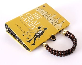 Book Purse Handbag- The Great Gatsby