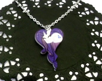 Kawaii Rarity Necklace, My Little Pony Friendship is Magic