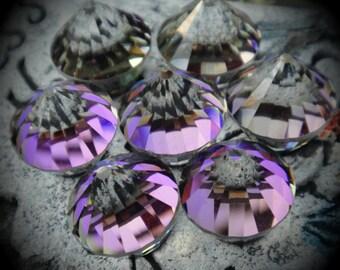 4866 14mm Genuine Swarovski Crystals Heliotrope Z Rocket Flat Backs