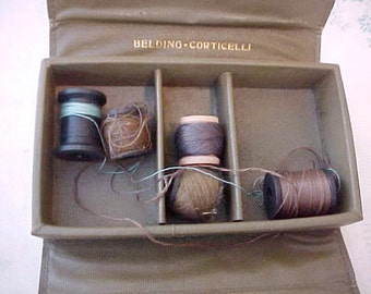 1940's WW11 U.S. Army Soldier's Mending Kit by Belding Corticelli