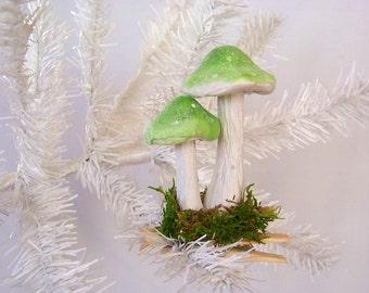 Mushroom Ornament Easter Summer or Christmas