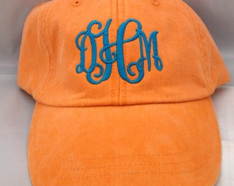 SALE: Monogrammed Baseball Cap, black unavailable