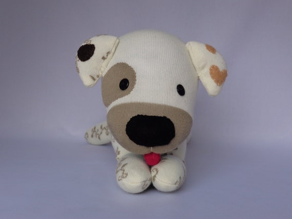 Plush Jack Dog Toy Jack Russell Terrier Dog Plush