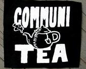 Communi-Tea Screenprint Patch