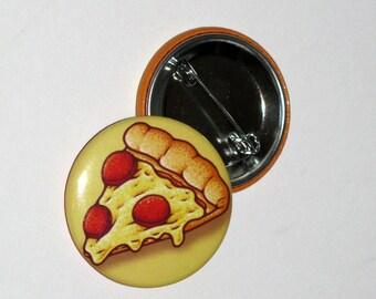 Pizza 1.5 inch Button