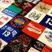 Queen - MADE TO ORDER TShirt Quilt Memory Blanket