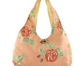 Big tote bag - Floral print bag - Beach bag