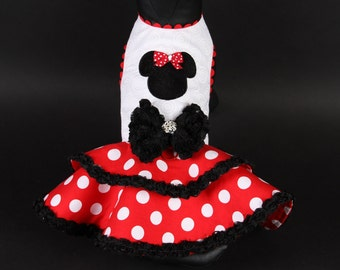 SUMMER:  MINNIE BELLA Dog Dress