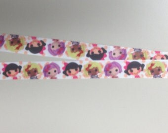Super cute Lalaloopsy Lanyard for you your ID or Badge Holder