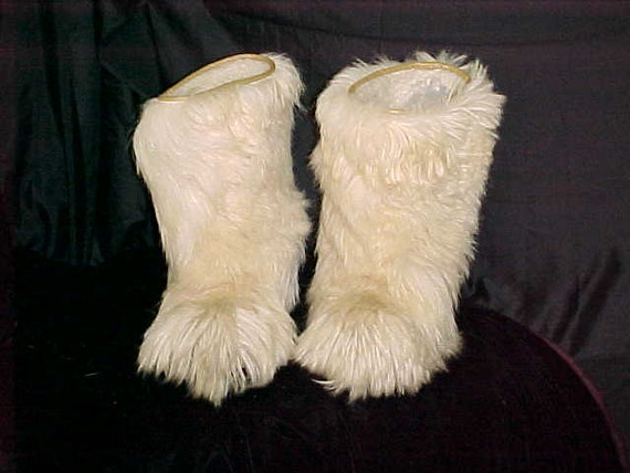 fur boots for ideal roluc italian white fur boots for
