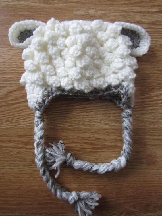 Crochet Pattern For A Lamb Hat : Crochet Lamb Hat