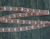 1 Yard Dainty Ecru Cotton Lace Trim - Antique Vintage Supplies