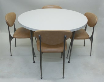 SHELBY WILLIAMS Gazelle Dining Table and Chairs c1960