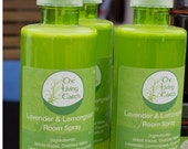 Clearance Sale 50% off  Room and Linen Spray, Lemongrass & Lavender, 4oz