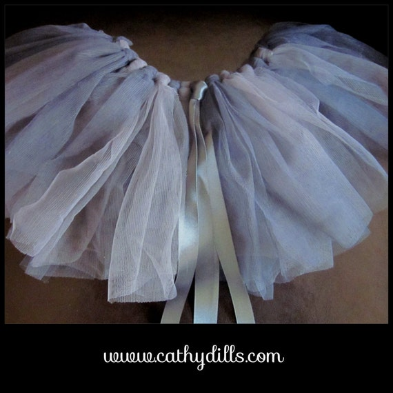 GREY newborn ballerina skirt