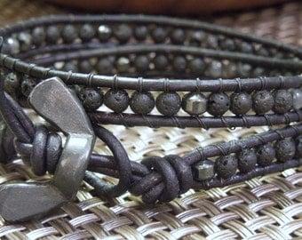Diesel Men's Wrap bracelet