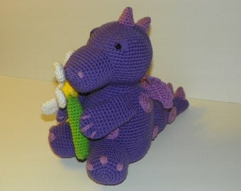 Daisy Dragon crochet pattern