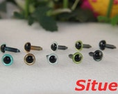 5  pairs 9mm  fantasy  color safety eyes  for felt wool doll-1 pairs for each color