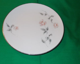 """Two (2), 7"""" Porcelain Bread & Butter Plates, from Noritake, in the 4020 Pattern."""