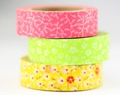 Tape - Flower and Vine Washi Tape
