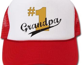 Number 1 Grandpa Hat/Cap