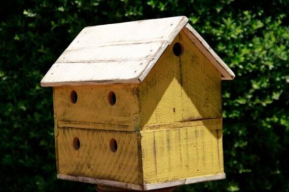 Vintage Bird House Antique Style Bird House Finch Bird