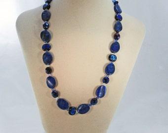Am I Blue-Lapis-Lazuli-Crystal-Necklace